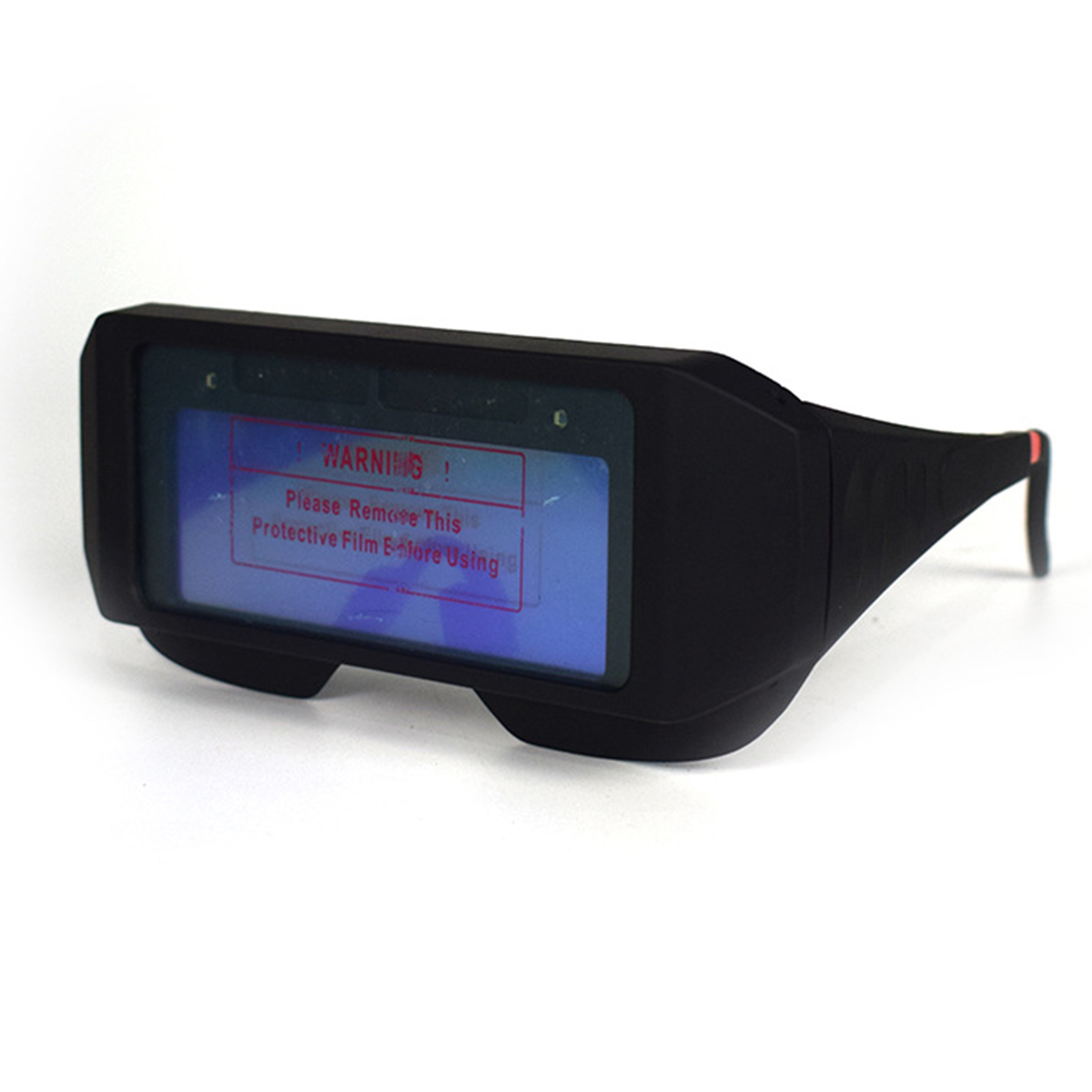 Solar Powered Auto Darkening Welding Mask Helmet Eye Goggle Welding Glasses Arc Automatic Head Changing Glasses With Band