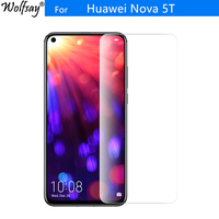 2PCS For Tempered Glass Huawei Nova 5T Screen Protector 9H Toughened Glass For Huawei Nova 5T Glass Protective Film Nova 5 T