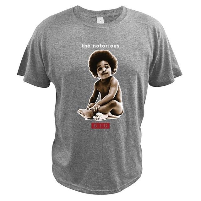Le célèbre B. I. G. T-shirt le bébé t-shirt taille ue 100% coton nouveau Style col rond de haute qualité doux Camiseta