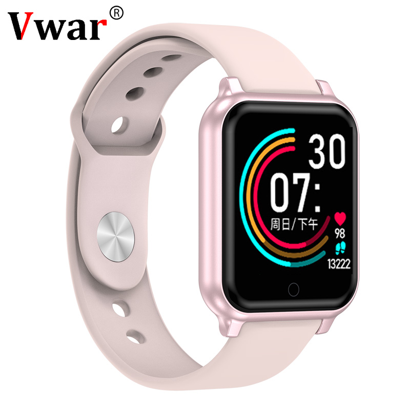 Vwar B58 Smart Watch Men Women Heart Rate Blood Pressure Monitoring B57 Plus Q9 P68 Smartwatch Fitness Tracker For IPhone Xiaomi