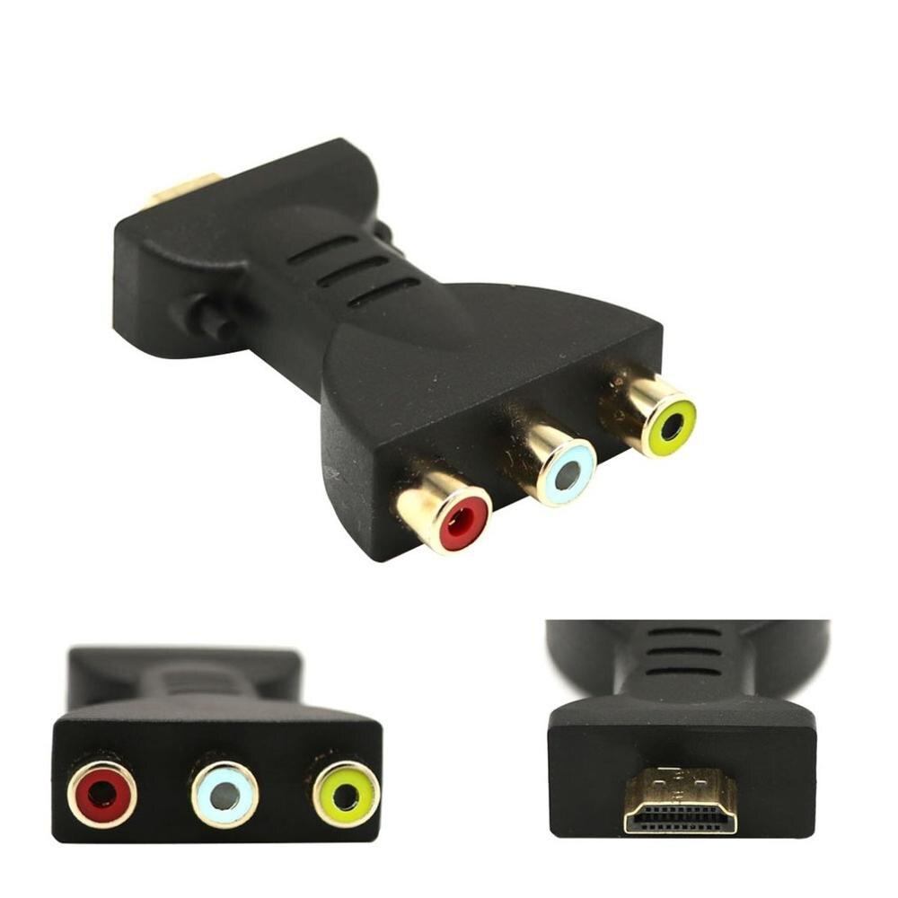 Новый 1080P SCART К HDMI видео аудио конвертер, адаптер сигнала с зарядный кабель-адаптер для Sky Box DVD STB