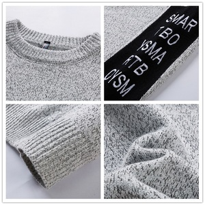 Image 5 - SingleRoad Thick Sweater Men 2019 Winter Wool Clothes Knitted Pullover Cashmere Sweaters Male Loose Fashion Jumper High Quality