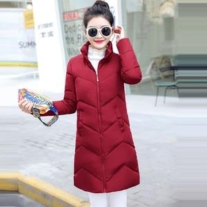 Image 2 - 2019 décontracté coupe vent femmes vestes de base manteaux chauds grande taille 6XL vestes Bomber femme