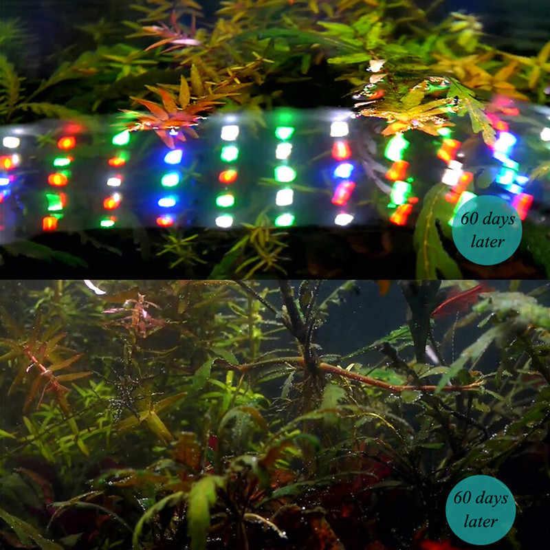 Chihiros WRGB oświetlenie akwarium rośliny wodne symulowane wschód słońca akwarium diody LED do akwarium z roślinami LED oświetlenie