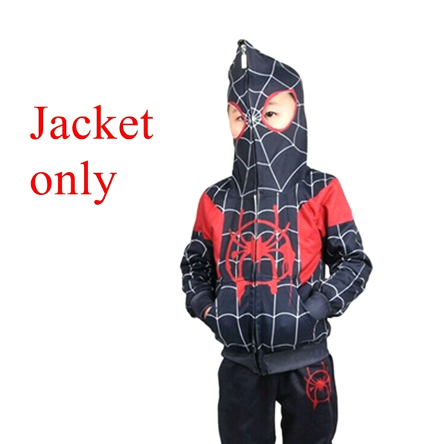 Spider Into The Spider-verse enfants Gwen Stacy Sweat Capuche Polaire Pull NOUS