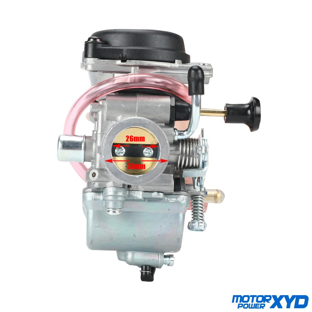 Motorcycle 26mm Carburetor For Suzuki EN125 125cc Engine GZ125 Marauder GN125 GS125 EN125 Manual Choke Carb image