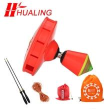 Diabolo 8 roulements chinois asymétriques, jouets professionnels, ensemble, emballage avec sac à ficelle