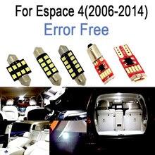 Trunk-Light-Kit Espace Renault Car-Led-Bulbs Interior for Renault/Espace/4-iv/.. Reading