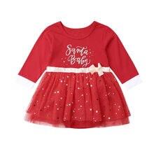 New 2019 Christmas Newborn Baby Girls Princess Clothes Xmas
