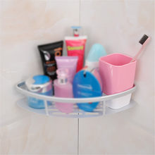 Triangular Shower Shelf Bathroom Corner Rack Storage Basket Hanger Home Storage Organization Storage Holders & Racks(China)