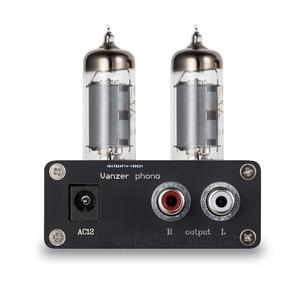 Image 4 - Douk Audio HiFi 6K4 Vacuum Tube MM/MC Phono Stage Preamp Mini Turntable Audio Preamplifier
