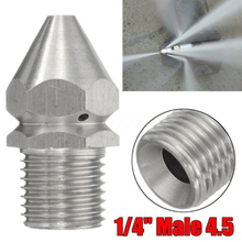 Spray Nozzle Washer Drain Garden-Accessories-Tools Sewer-Cleaning-Pipe Pressure Forward-Hole