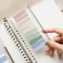 Stickers Stationery Bookmark Planner School-Supplies Index Mohamm Waterproof PET No