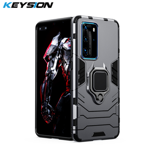 KEYSION Shockproof Armor Case For Huawei P40 P40 Pro Mate 30 P30 P20 Lite Phone Cover for Honor 20 20s 20i 20 Lite 10i 8s 8i 8A(China)
