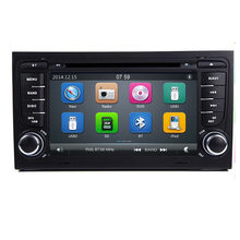 2 Din AutoRadio Car DVD Multimedia Player For Audi A4 B6 B7 Seat Exeo S4 B7 B6 RS4 B7 2000-2012 GPS Navigation Stereo(China)