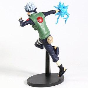 Image 4 - Naruto Shippuden Vibration Stars Hatake Kakashi Lightning Cutter Ver. Figura de PVC, figura coleccionable, modelo de juguete