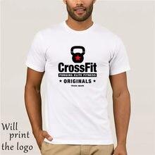 KETTLEBELL CROSSFIT T SHIRT Treno Fitness sollevamento pesi Bilanciere + per 4XL Nuovo T Camicette Divertente Magliette e camicette