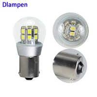 Ampulle S25 1156 BA15S 4W Dc 6 12 V volt led-lampe licht für Blinker Blinker Lichter motorrad schwanz Reverse lampe 6v 12v