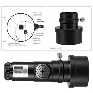 Image 3 - Astronomical Telescope Monocular Collimator 2 inch Adapter Reflector Telescope Laser 7 Brightness Level Eye Lens Telescope