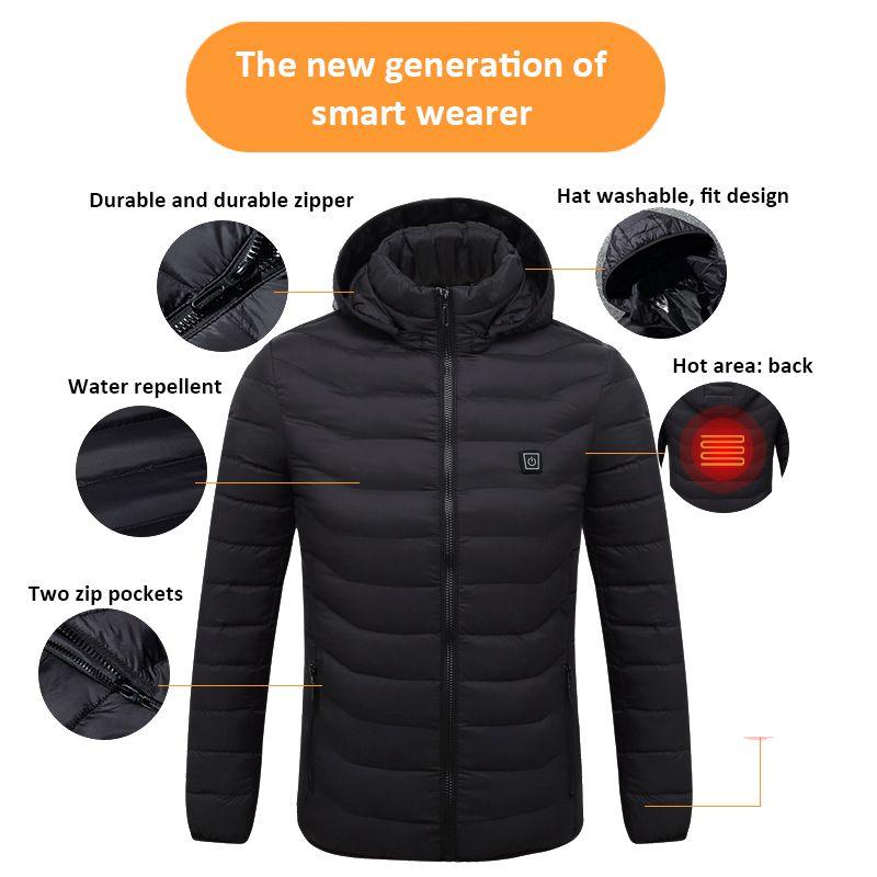 H8a2716d419f743b98b98020e8925ea60c 3 Color Heated Winter Jacket