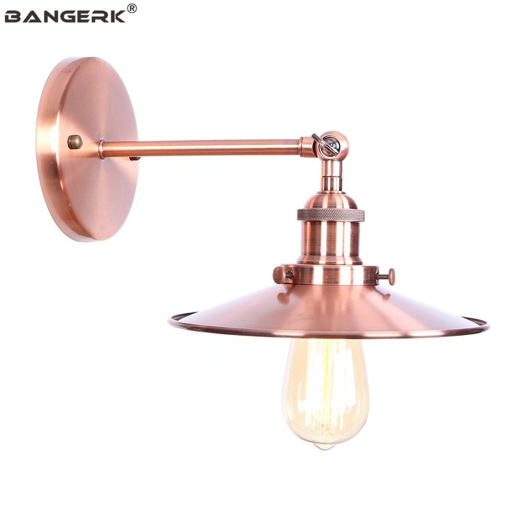 Industrial Antique LED Wall Lamp Loft Decor Iron Adjust Edison Wall Lights Sconce Bedside Home Lighting Fixtures Luminaire