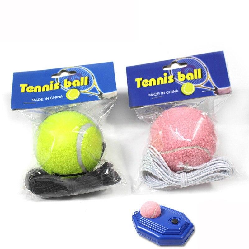 Tennis Line Tennis Tennis High Elasticity Single Training Tennis Tennis Balls  Tennis Training  Tennis Practice Ball Sports