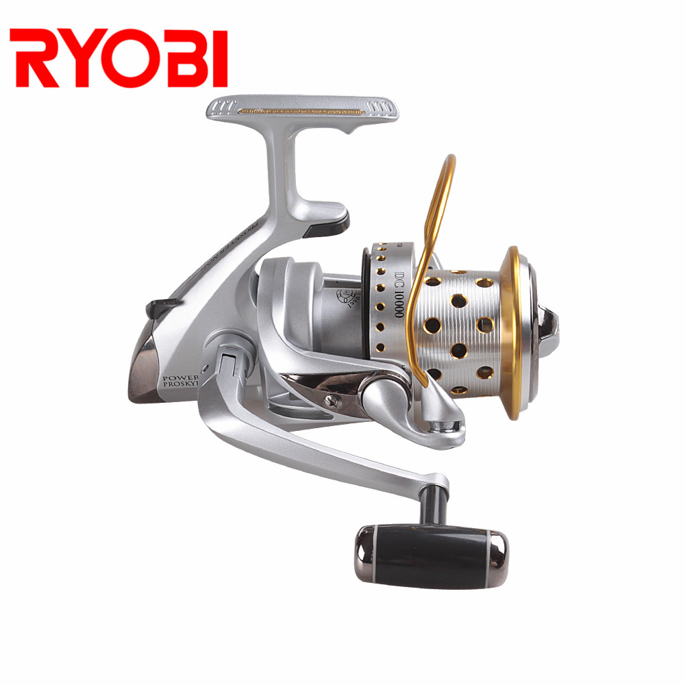 100% Original RYOBI PROSKYER NOSE Spinning Fishing Reel 3.9:1/4+1BB Carretilha De Pesca Aluminum Spool Steering-Wheel Carp Reel