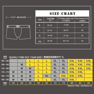 Image 5 - 5 יח\חבילה משלוח חינם כותנה מתאגרף גברים Underware מתאגרפים טלאים רך סקסי Mens תחתוני Boxershorts Sexi זכר תחתונים