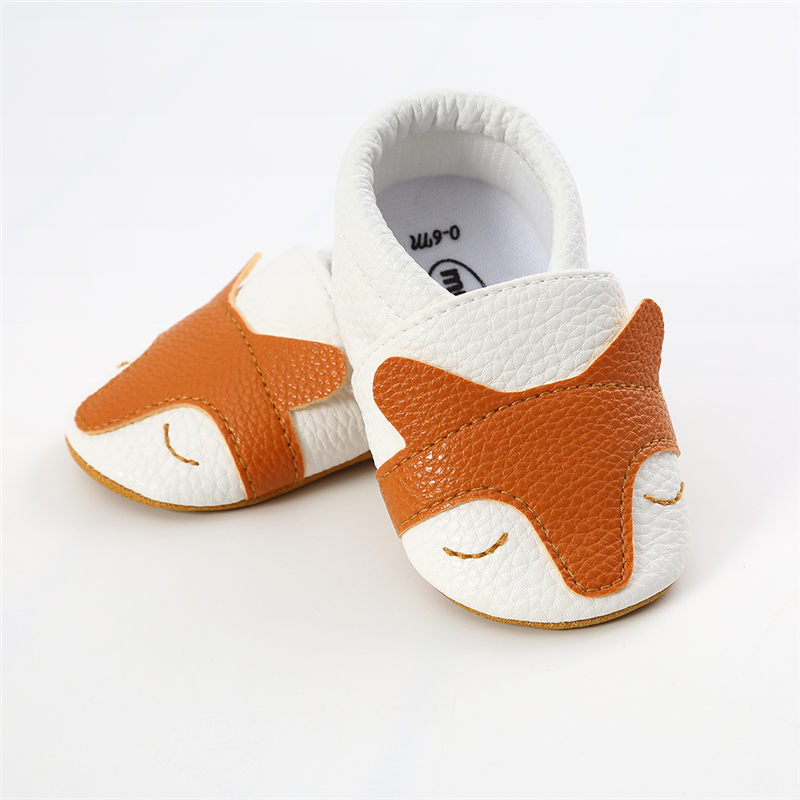 Baby Booties Newborn Girls Boys Shoes Infant Kids PU Leather Pram Crib Shoes Toddler First Walkers Soft Sole Prewalker Sneakers