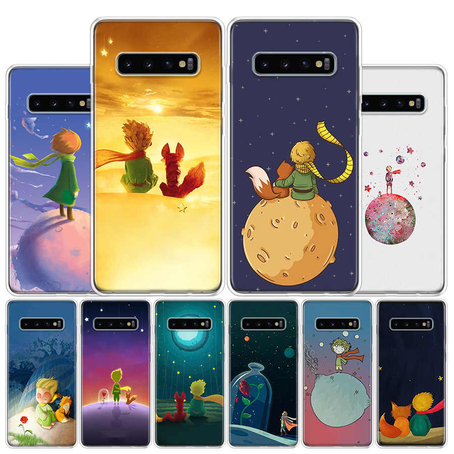 The Little Prince Phone Case untuk Samsung Galaxy A51 A71 A50S A30S A10 A20E A40 A70 M30S A91 A01 A6 a7 A8 A9 Plus + Cover