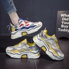 Новые роскошные Прогулочные кроссовки для девочек с толстой подошвой, женские кроссовки, брендовая дизайнерская женская обувь для гимнастики, оригинальная спортивная обувь для девочек