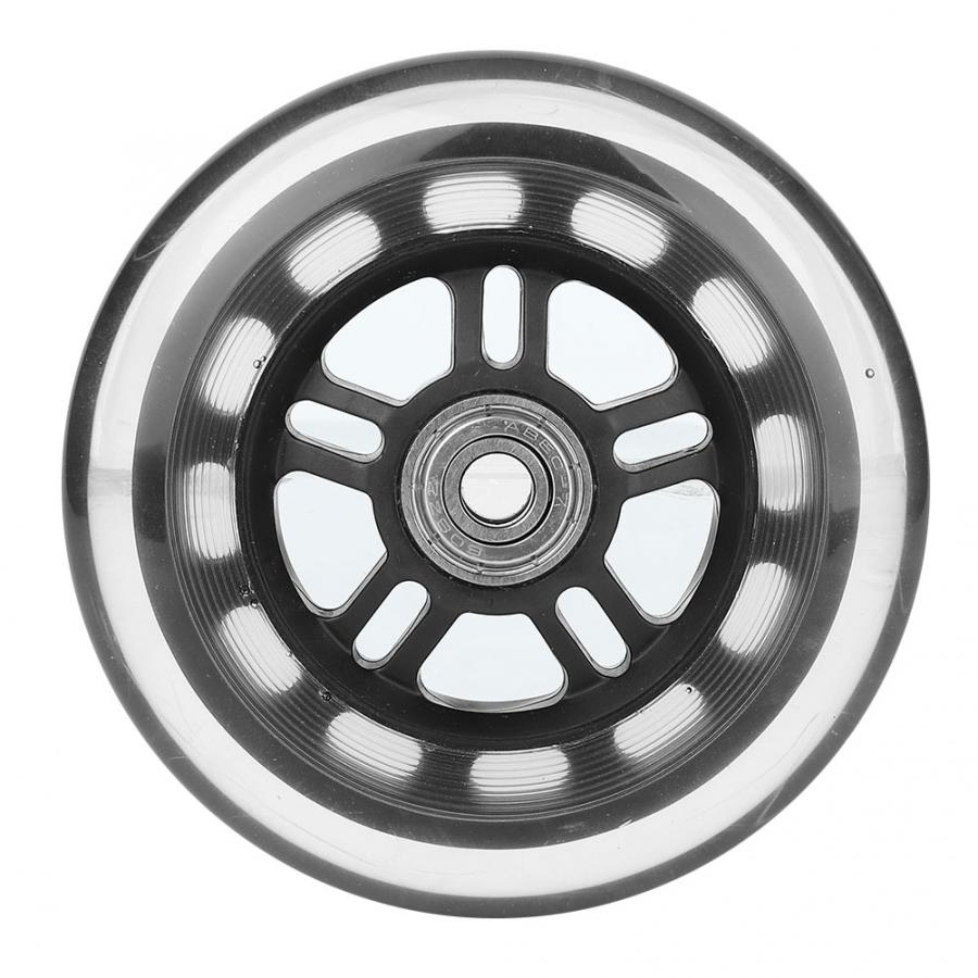 ABEC 7 Bearing Caster Wheels 4 inches PU Casters For Small Carts/Doors/Hardware Casters     - title=