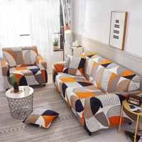 Polyester Waschbar Schutzhülle Wohnkultur Nicht-Slip Elastische All-inclusive-Weiche Sofa Abdeckung Stretch Gedruckt Wohnzimmer Vier saison