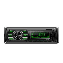 1Din Car Fm Radio Mp3 Wma Player Bluetooth Aux Audio Player Rk-535(China)