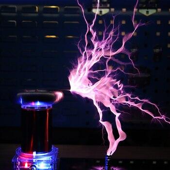 цена на 400W/500W SSTC Tesla coil AC 110v/220v high power Music Plasma Horn Speaker Electronic Component Parts diy Electronic Coil Kit
