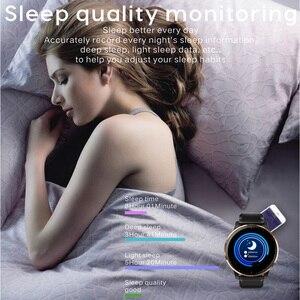 Image 5 - Reloj inteligente Lerbyee Q20 a prueba de agua IP67 Monitor de ritmo cardíaco reloj de ejercicio sangre Preessure Control de música recordatorio de llamada Smartwatch hombres mujeres pulsera deportiva podómetro negro gran venta para iOS Android