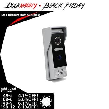 Doornanny Doorphone Doorbell PoE Outdoor Call Panel Of Video Intercom Extra Doorbell IP 720P WiFi 87203 build in battery long time standby wireless wifi 720p ip doorbell intercom system