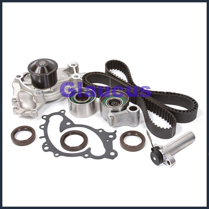 For Lexus GX470 4.7 V8 Water Pump Timing Belt Hydraulic Tensioner Bearings Kit