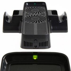 Image 3 - Ventilador de refrigeração com suporte de doca dupla para o controlador de jogo xbox 360