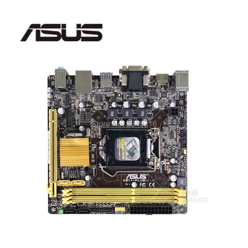 ASUS 17--17-Socket Mini-Itx DDR3 Intel LGA1150 Sata3-For-Asus Desktop Used H81 HTPC USB3.0