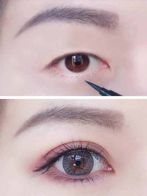 Waterproof Black Liquid Eyeliner Pencil Big Eyes Makeup Long-lasting Eye Liner Pen Make up Smooth Fast Dry Cat Eye Cosmetic Tool 3