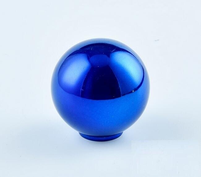 5 цветов синий шар автомобиля Алюминий рукоятка для рычага переключения передач ручной головные уборы рычаг Headball