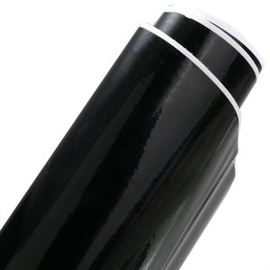 Image 5 - สำหรับตกแต่งรถยนต์ 1 PC 30x152 ซม.ยืดหยุ่น Bubble ฟรีรถยนต์ฟอยล์ Gloosy สีดำรถภายนอกจัดแต่งทรงผมสติกเกอร์ Mayitr