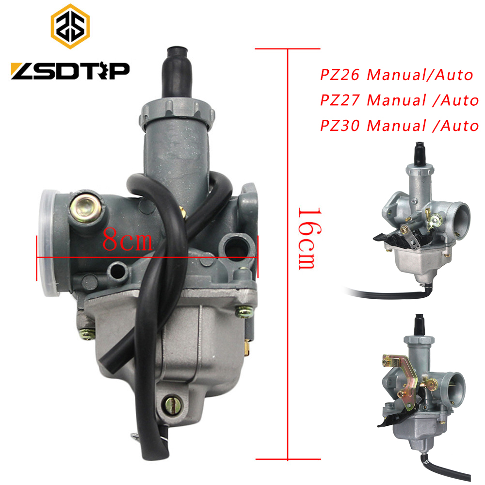 ZSDTRP для Keihin PZ26 PZ27 PZ30 мотоциклетный карбюратор чехол для Honda CG125 CG150 CG250 TTR250 для PZ Carb