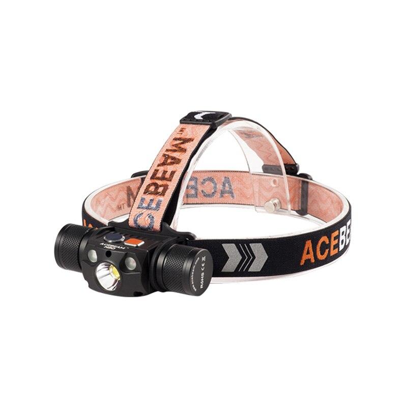 Acebeam H30 multi-sortie USB-C lampe de poche Rechargeable 4,000 Lumens comprend 1x21700 batterie Camping pêche course phare