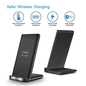 Qi Wireless Charger Fast Wireless Charging Stand 15W Wirless Charger For iPhone 11 Pro X Xiaomi mi 9 Samsung S10 Huawei Mate 30