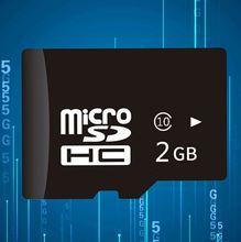 Micro sd карта 2 Гб класс 10 Флэш памяти microsd tf micro
