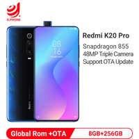 Rom officielle globale Xiaomi Redmi K20 Pro 8GB 256GB Smartphone Snapdragon 855 Octa Core 4000mAh caméra frontale Pop-up caméra 48MP