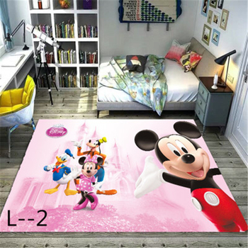Mickey and Minnie Mouse  Door Mat Playmat Kids Boys Girls Game Mat Carpet  Bedroom Kitchen Carpet Indoor Bathroom Mat Kids Rug many playmat choices 565 mtg board game mat table mat for magical mouse mat the gathering