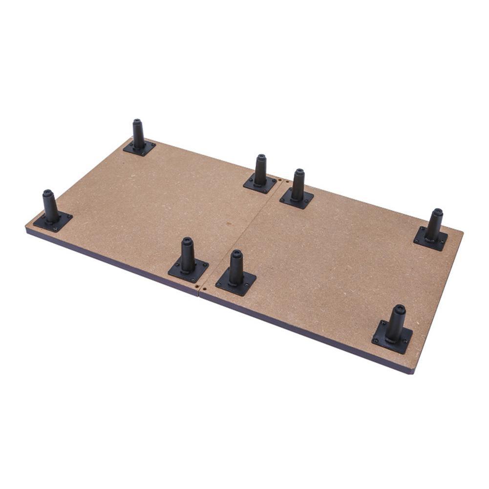 Мини-набор для настольного тенниса, складной деревянный стол для пинг-понга с 2 ракетками, портативная настольная игра для помещений, детская игрушка 4